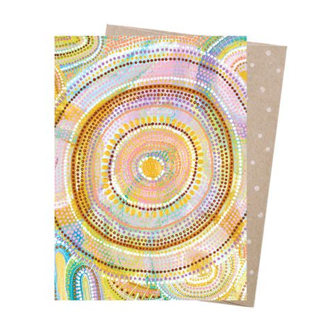 Natalie Jade Greeting Card - Cosmic Consciousness