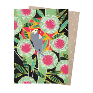Mulla Mulla Greeting Card - Pincushion Hakea