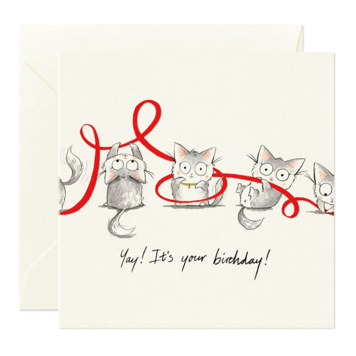 Card Nest Greeting Card - Yay! It's Your Birthday!