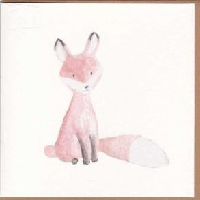Paper Street Greeting Card - Fox