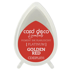 Card Deco Essentials Pearlescent Pigment Ink - Golden Red