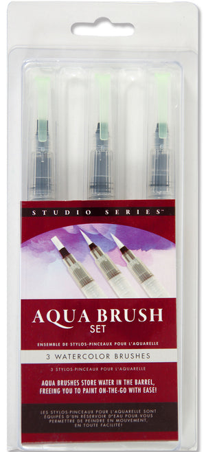 Studio Series - Aqua Brushes, Set of 3