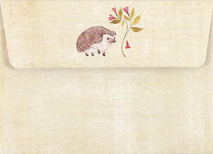 Note Card Set - Hedgehog