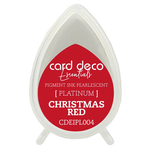 Card Deco Essentials Pearlescent Pigment Ink - Christmas Red