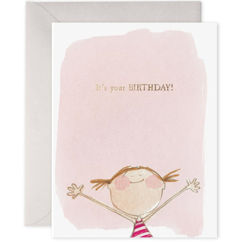 E Frances Greeting Card - It's Your Birthday