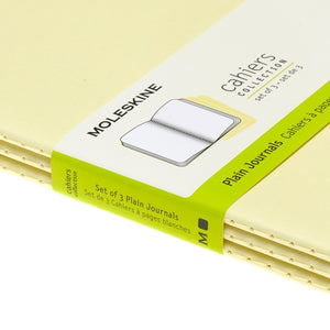 Moleskine Cahier Notebook - Plain, Large, Tender Yellow
