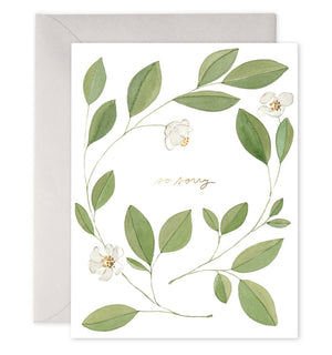 E Frances Greeting Card - Magnolia Condolences