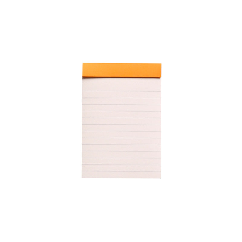 Rhodia #12 Notepad - Ruled, 9 x 12cm , Black