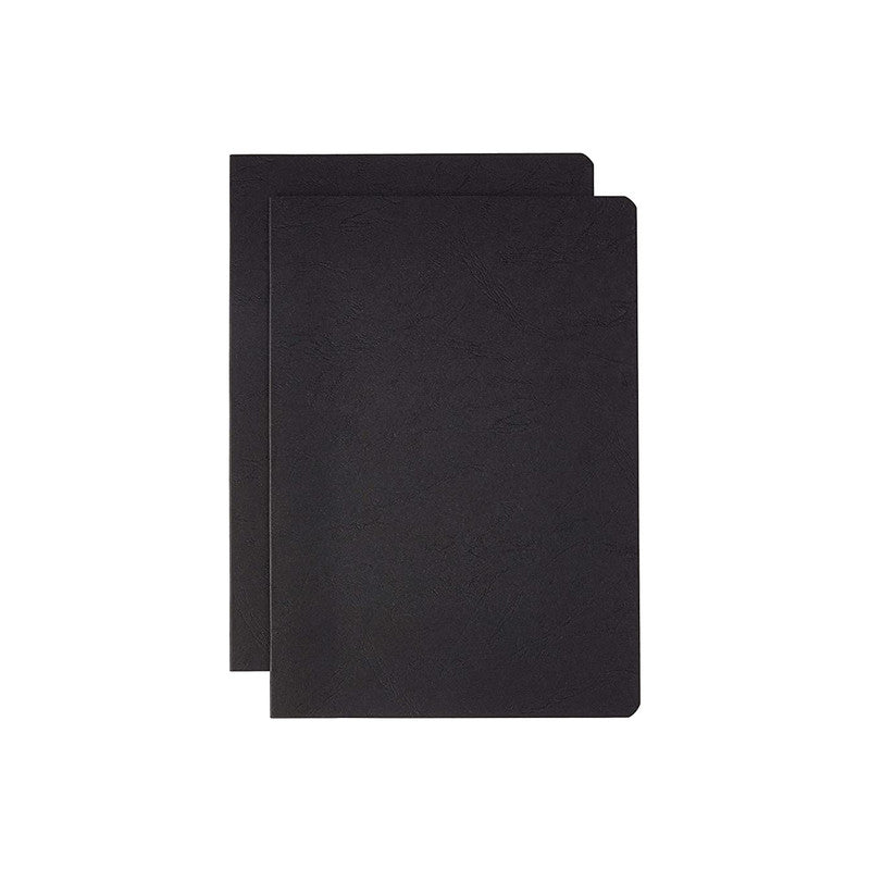 Clairefontaine Stapled Twin Set Notebooks - A5, Ruled, Black