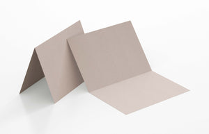 Blank Note Cards - 125 x 175mm, Folded, Environment Desert Storm
