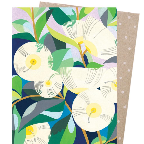 Claire Ishino Greeting Card - Lemon Scented Gum