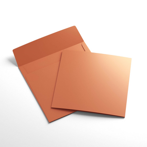 Cardpack (145 x 145mm) Folded - Orange | Paperpoint | Paperpoint Stationery South Melbourne
