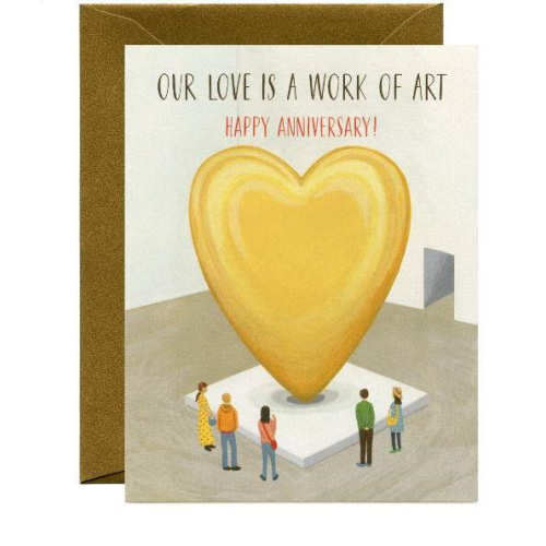 Yeppie Paper Greeting Card - Museum Love