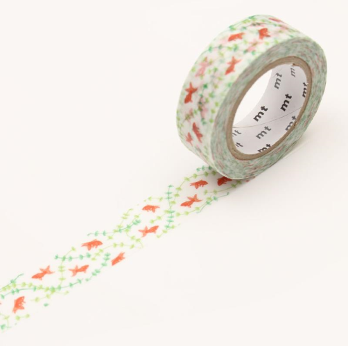 MT Tape Single Wide Roll - Goldfish | MT | Paperpoint Stationery South Melbourne