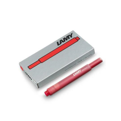 Lamy Ink Cartridge T10 Red | Lamy | Paperpoint Stationery South Melbourne