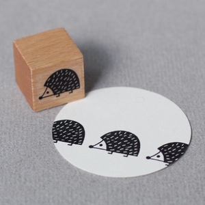 Perlenfischer Stamp - Baby Hedgehog | Perlenfischer | Paperpoint Stationery South Melbourne