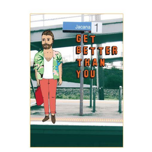 Able & Game Greeting Card - Jacana Get Better Than You