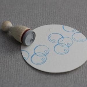 Perlenfischer Mini Cone Stamp - Soap Bubble | Perlenfischer | Paperpoint Stationery South Melbourne