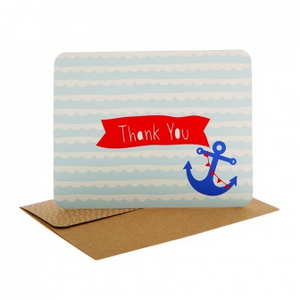 Hipp Thank You - Anchors Away | HiPP | Paperpoint Stationery South Melbourne