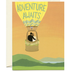 Yeppie Paper Greeting Card - Hot Air Balloon