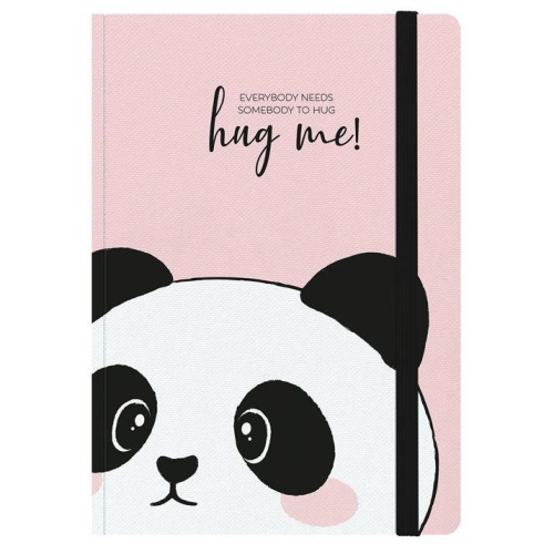 Legami Photo Notebook - Ruled, Medium, Panda Hugs