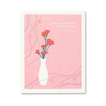 PG Card - Little Acts Of Kindness... | Positively Green | Paperpoint Stationery South Melbourne
