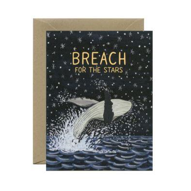Yeppie Paper Greeting Card - Breach for the Stars