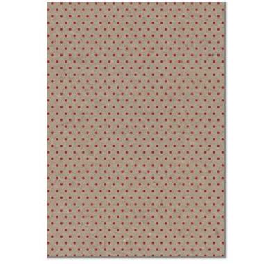 A4 (210x297mm) Patterned Paper: Red Dot On Botany 115gsm | I-Paper | Paperpoint Stationery South Melbourne