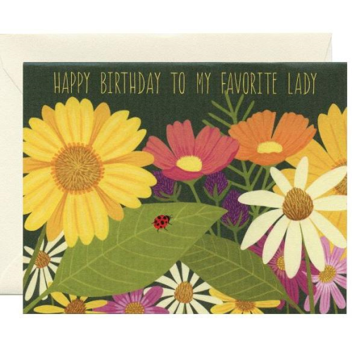 Yeppie Paper Greeting Card - Favorite Lady