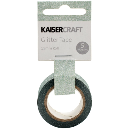 Kaisercraft Glitter Tape - Mint | Kaisercraft | Paperpoint Stationery South Melbourne