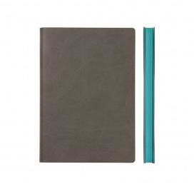 Signature Notebook - Ruled, A5, Grey | Daycraft | Paperpoint Stationery South Melbourne