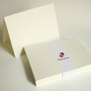 Blank Note Cards - 125 x 175mm, Folded, Cream | Paperpoint | Paperpoint Stationery South Melbourne