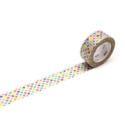 MT Tape Single Pearl Roll - Sparkling Circle