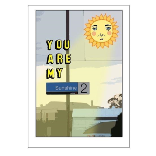 Able & Game Greeting Card - You Are My Sunshine
