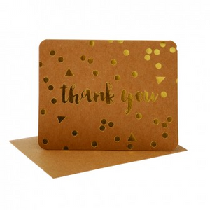 Hipp Thank You - Conf Kraft/Gd | HiPP | Paperpoint Stationery South Melbourne