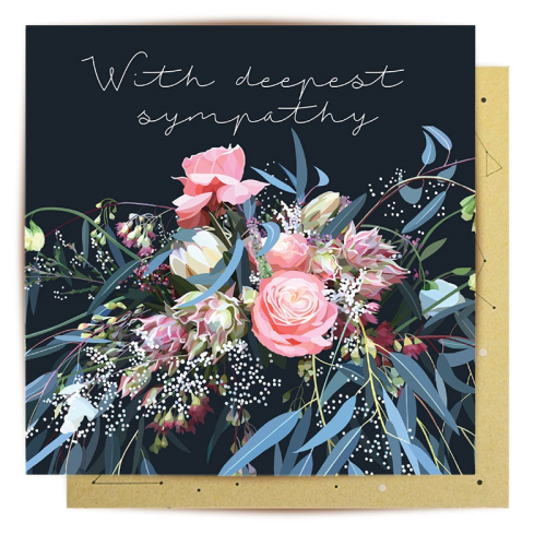 La La Land Greeting Card - Sympathy Marielle