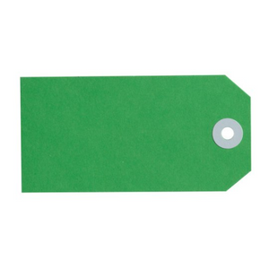 No. 4 Shipping Tag - Green