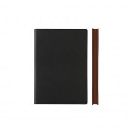 Signature Notebook - Ruled, A6, Black | Daycraft | Paperpoint Stationery South Melbourne