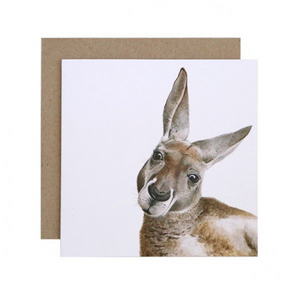 Kylie the Kangaroo Greeting Card | For Me By Dee | Paperpoint Stationery South Melbourne