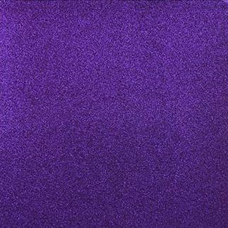A4 (210 x 297mm) Glitter Paper - Adhesive-backed, Violet
