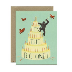 Yeppie Paper Greeting Card - King Kong Cake