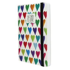 Legami Photo Notebook - Ruled, Medium, Hearts