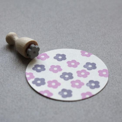 Perlenfischer Mini Cone Stamp - Blossom | Perlenfischer | Paperpoint Stationery South Melbourne