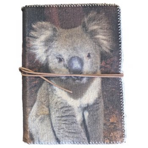 Nero Canvas Journal - Medium, Koala