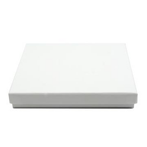 Casemade CD Box - White (130x145x23mm)