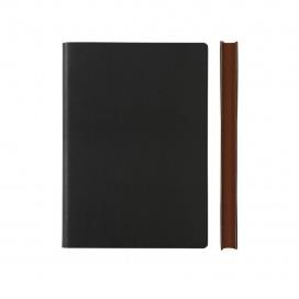 Signature Notebook - Ruled, A5, Black | Daycraft | Paperpoint Stationery South Melbourne
