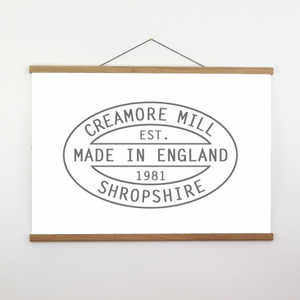 Creamore Mill Oak Poster Hanger - Large (715mm wide)