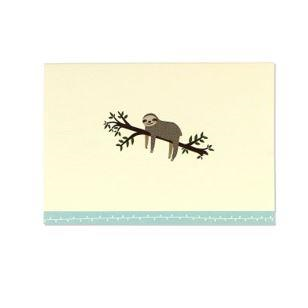 Note Card Set - Sloth | Peter Pauper Press | Paperpoint Stationery South Melbourne