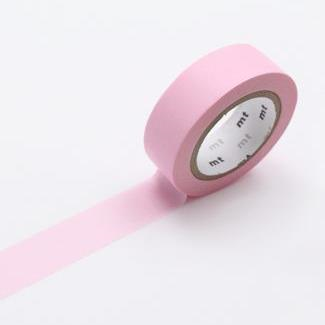 MT Tape Single Roll - Pastel Pink | MT | Paperpoint Stationery South Melbourne