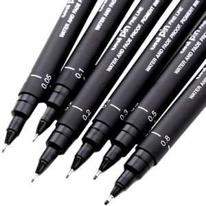Uni Pin Fineline Black Pigment Ink Pen 0.05 | Uni-ball | Paperpoint Stationery South Melbourne